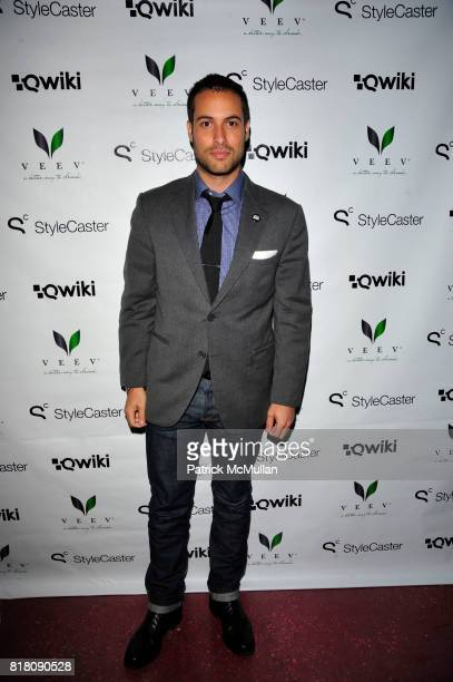 Ari Goldberg attends Stylecaster Media Group hosts official New York Launch of QWIKIcom at Backstage Tammany Hall NYC on November 19 2010 in New York...