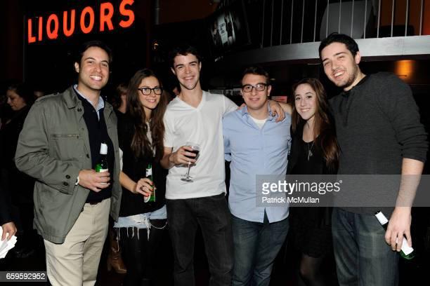 Ari Goldberg Lara Speier Robert Olsen Bryan Gaynor Rachel Siegel and Dan Berk attend BLOOMINGDALES presents 5 INDIE SHORT FILMS at Tribeca Cinemas on...