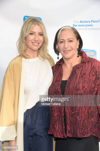 Ari Graynor and mother Joani Geltman attend the Actor's Funds 2018 Looking Ahead Awards at Taglyan Cultural Complex on October 28 2018 in Hollywood...