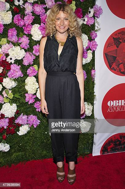 Ari Graynor attends the 60th Annual OBIE Awards at Webster Hall on May 18 2015 in New York City