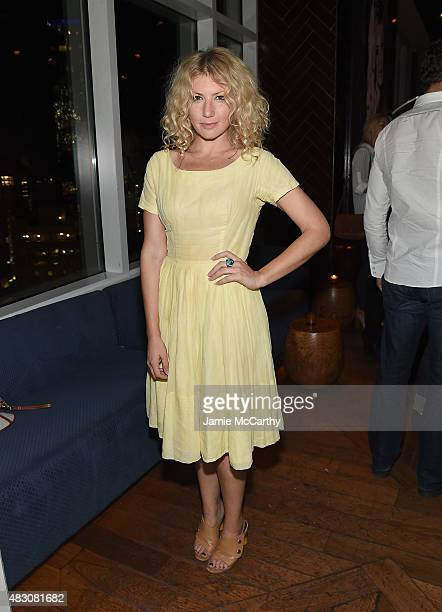 Ari Graynor attends the after party for the screening of Sony Pictures Classics 'The Diary Of A Teenage Girl' Hosed by The Cinema Society at Jimmy At...