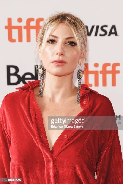 Ari Graynor attends 'The Front Runner' premiere at Ryerson Theatre on September 8 2018 in Toronto Canada