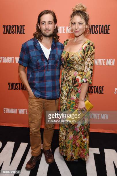 Ari Graynor attends the opening night of 'Straight White Men' at Hayes Theater on July 23 2018 in New York City