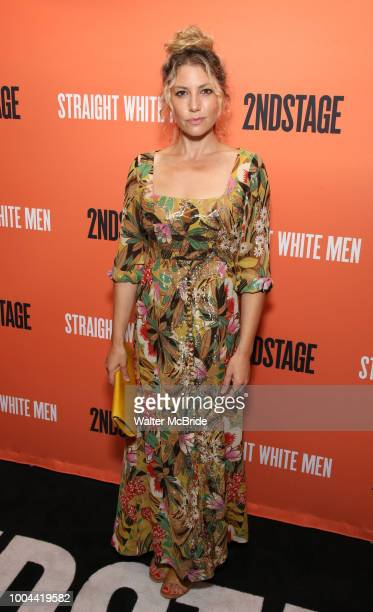 Ari Graynor attends the Opening Night Performance of 'Straight White Men' at the Hayes Theatre on July 23 2018 in New York City