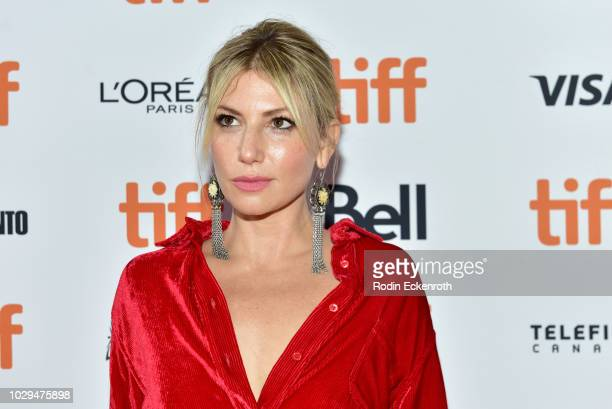 Ari Graynor attends the 'The Front Runner' premiere during 2018 Toronto International Film Festival at Ryerson Theatre on September 8 2018 in Toronto...