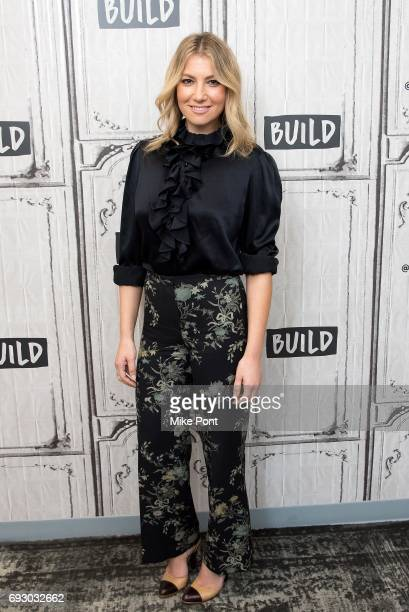 Ari Graynor visits Build Studios to discuss 'I'm Dying Up Here' at Build Studio on June 6 2017 in New York City
