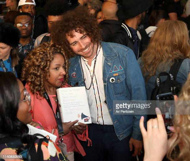 Ari Herstan and guests attend the Attendee Welcome and Networking Reception during the 2019 ASCAP I Create Music EXPO at Lowes Hollywood Hotel on May...