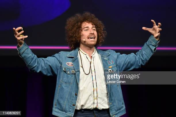 Ari Herstand speaks onstage at the 'How To Make It In The New Music Business' panel during the 2019 ASCAP I Create Music EXPO at Lowes Hollywood...