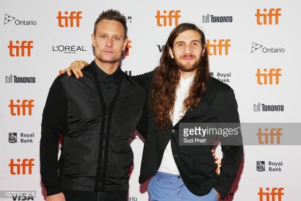 Ari Lantos and Jonathan Kawchuk attend the 'Clara' premiere during 2018 Toronto International Film Festival at Ryerson Theatre on September 10 2018...