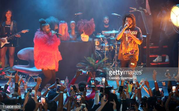 Ari Lennox J Cole Performing On Her Shea Butter Baby Tour at Bowery Ballroom on June 4 2019 in New York City