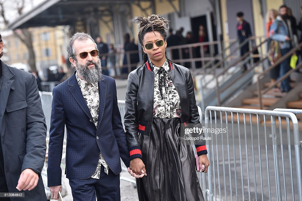 Gucci - Arrivals - Milan Fashion Week  FW16 : News Photo