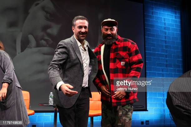 Ari Melber and Ebro Darden attend Things Done Changed Celebrating The 25th Anniversary Of The Notorious BIG's Ready To Die at BRIC on October 06 2019...