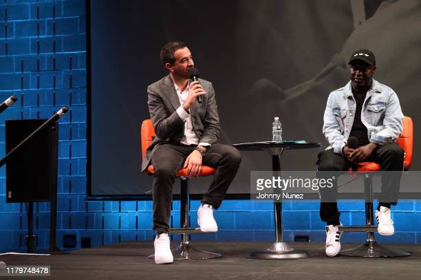 Ari Melber and Havoc attend Things Done Changed Celebrating The 25th Anniversary Of The Notorious BIG's Ready To Die at BRIC on October 06 2019 in...