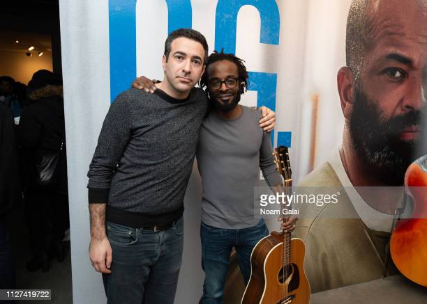 Ari Melber and John Forte attend 'The OG' Experience by HBO at Studio 525 on February 23 2019 in New York City