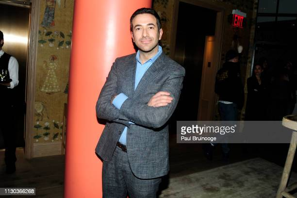 Ari Melber attends Fox Searchlight Pictures Hosts A Special Screening Of 'The Aftermath' at The Whitby Hotel on March 13 2019 in New York City