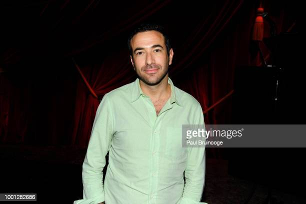 Ari Melber attends Lionsgate With The Cinema Society Host The After Party For 'Blindspotting' at Public Arts at Public on July 16 2018 in New York...