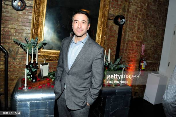 Ari Melber attends New York Premiere Of TNT's 'I Am the Night' After Party at 214 Lafayette on January 22 2019 in New York City