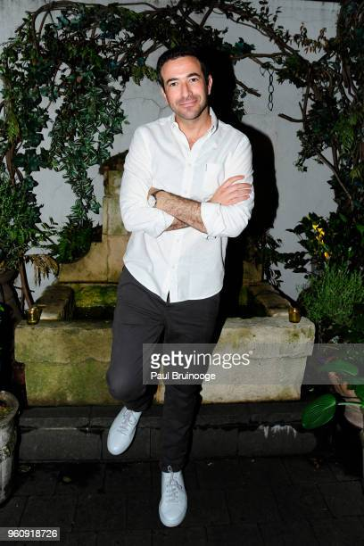 Ari Melber attends OWN With The Cinema Society Host A Party For Ava DuVernay And 'Queen Sugar' at Laduree Soho on May 20 2018 in New York City