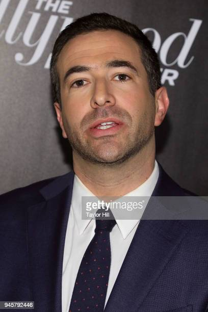 Ari Melber attends the 2018 The Hollywood Reporter's 35 Most Powerful People In Media at The Pool on April 12 2018 in New York City
