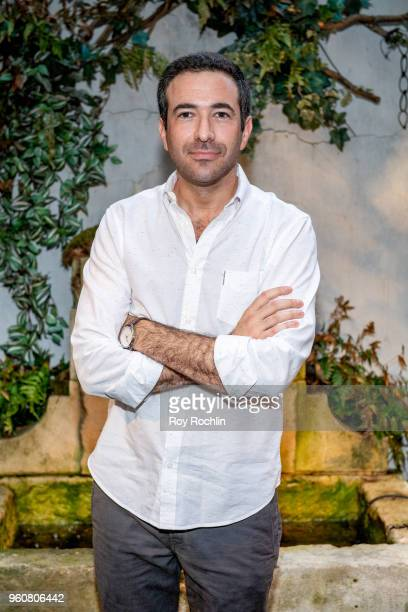 Ari Melber attends The Cinema Society with OWN host the 'Queen Sugar' garden cocktail party at Laduree Soho on May 20 2018 in New York City