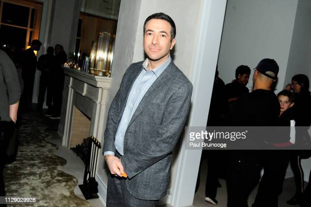 Ari Melber attends The Cinema Society With Synchrony Bank And FIJI Water Host The After Party For Marvel Studios' 'Captain Marvel' at Four Seasons...
