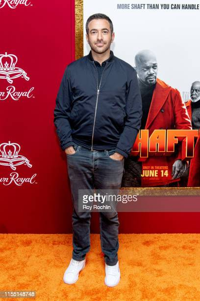 Ari Melber attends the Shaft New York Premiere at AMC Lincoln Square Theater on June 10 2019 in New York City