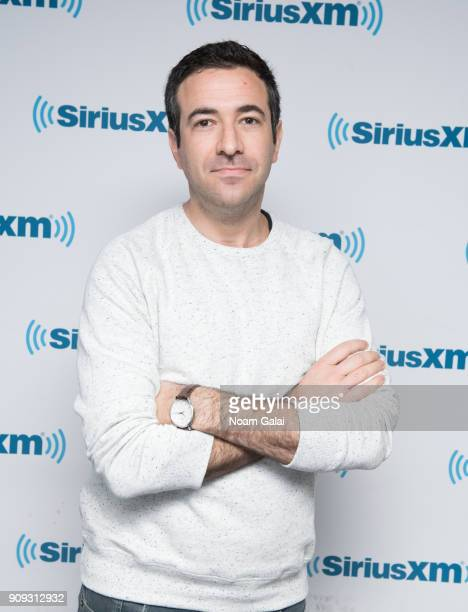 Ari Melber visits the SiriusXM Studios on January 23 2018 in New York City