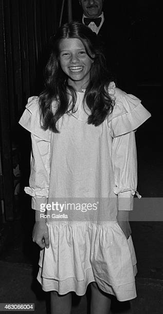 Ari Meyers attends the premiere party for 'Author Author' on June 17 1982 at the Metropolitan Club in New York City