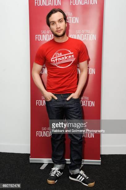 Ari Millen attends SAGAFTRA Foundation Conversations 'Orphan Black' at SAGAFTRA Foundation Robin Williams Center on June 5 2017 in New York City
