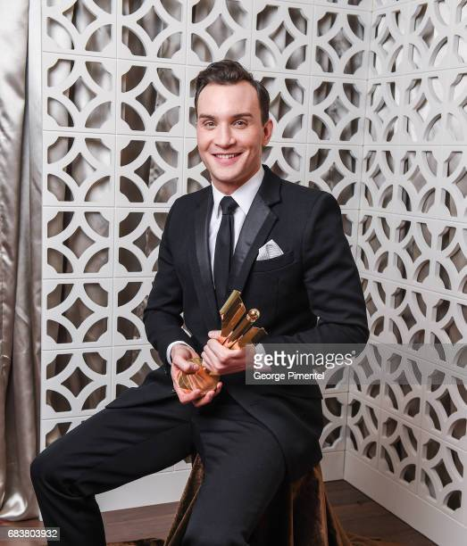 Ari Millen poses at the 2016 Canadian Screen Awards Portrait Studio at the Sony Centre for the Performing Arts on March 13 2016 in Toronto Canada