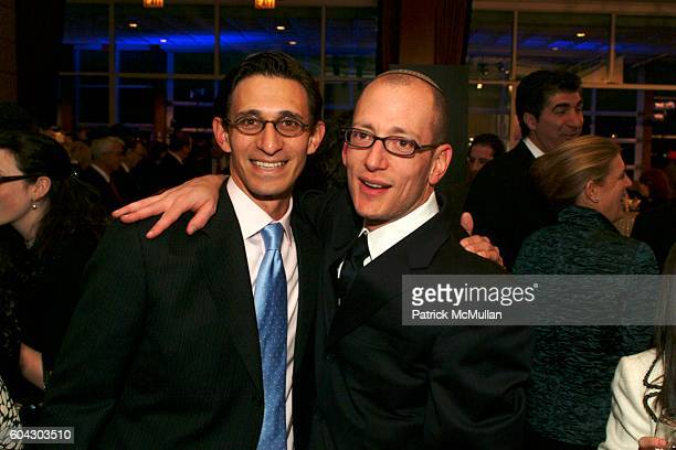 Ari Pearl and Yoni Leifer attend American Friends of Shalva Annual Dinner at Pier 60 on March 5 2006 in New York City