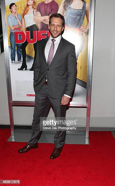 Ari Sandel attends The Duff New York Premiere at AMC Loews Lincoln Square on February 18 2015 in New York City