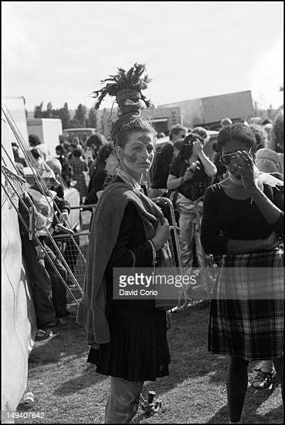 Ari Up of The Slits at Alexandra Palace London UK 16th June 1980