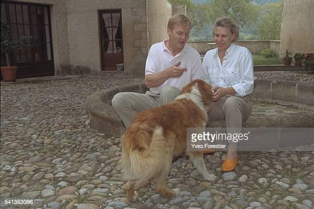 Ari Vatanen and his wife Rita