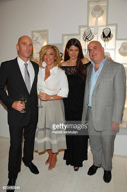Ari Zlotkin Guest Anne Fontaine and guest attend ANNE FONTAINE US Flagship Store Grand Opening at Anne Fontaine NYC on June 3 2008 in New York City
