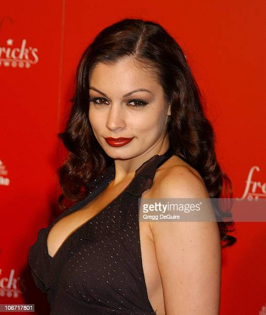 Aria Giovanni during Smashbox Fashion Week Los Angeles - Frederick's of Hollywood Fashion Show Fall 2003 Collection to benefit Expedition Inspiration...