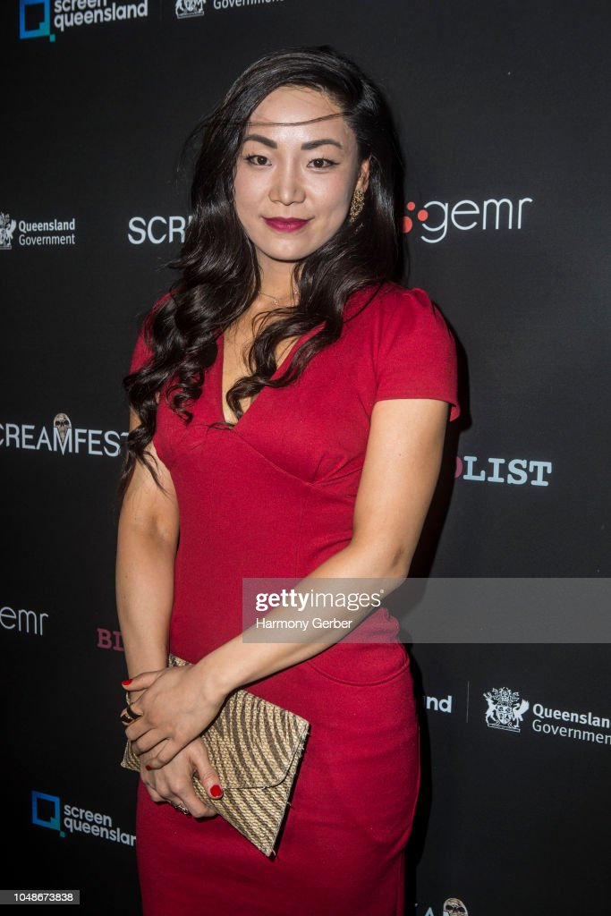 Aria Song attends Screamfest LA opening night screening of
