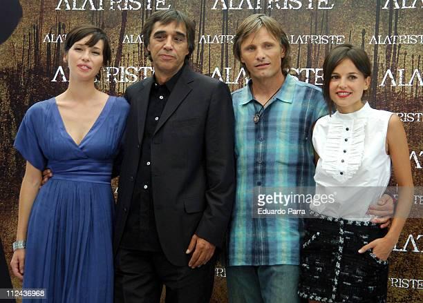 Ariadna Gil Agustin Diaz Yanes Director Viggo Mortensen and Elena Anaya