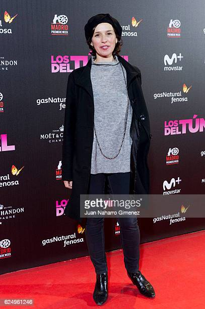 Ariadna Gil attends 'Los Del Tunel' premiere during the Madrid Premiere Week at Callao Cinema on November 21 2016 in Madrid Spain