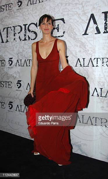 Ariadna Gil during Alatriste Premiere in Madrid August 31 2006 in Madrid Spain