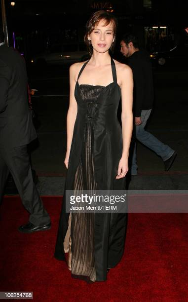 Ariadna Gil during Pan's Labyrinth Los Angeles Screening Arrivals at Egyptian Theater in Hollywood California United States