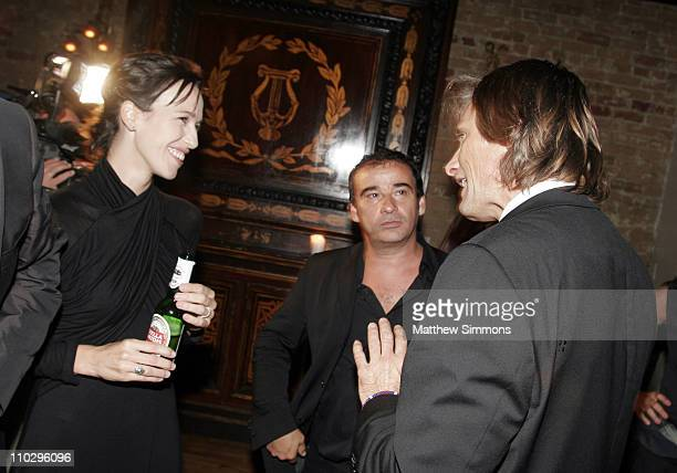 Ariadna Gil Enrico Lo Verso and Viggo Mortensen during 31st Annual Toronto International Film Festival Latin Party at Crystal Party in Toronto Canada