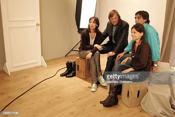 Ariadna Gil Viggo Mortensen Agustin Diaz director and Elena Anaya