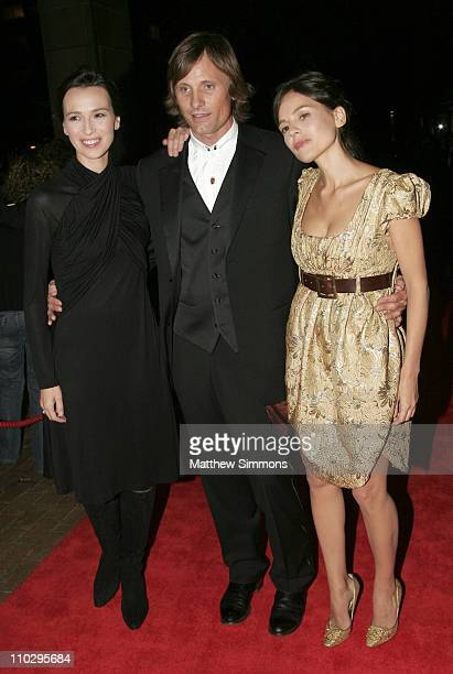 Ariadna Gil Viggo Mortensen and Elena Anaya during 31st Annual Toronto International Film Festival 'Alatriste' Premiere at Ryerson in Toronoto Canada