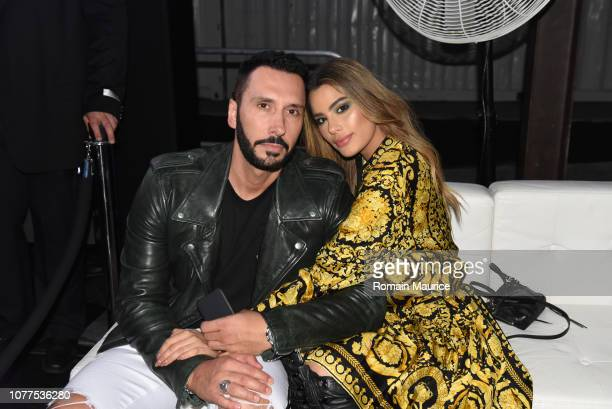 Ariadna Gutierrez and Cedric Gervais attend InList Presents 'Royal Racer' Art Basel Kickoff Party For Moishe Mana's Birthday With Cedric Gervais...