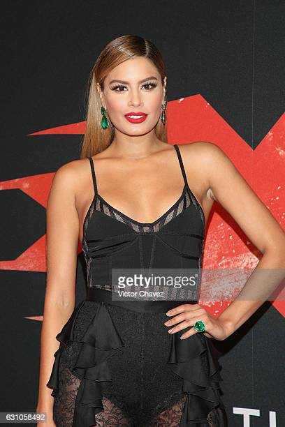 Ariadna Gutierrez attends the Mexico City Premiere of the Paramount Pictures 'xXx Return of Xander Cage' at Auditorio Nacional on January 5 2017 in...