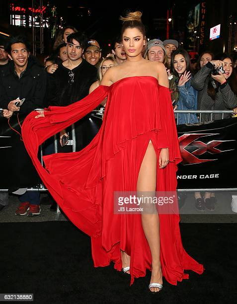 Ariadna Gutierrez attends the premiere of Paramount Pictures' 'xXx Return Of Xander Cage' on January 19 2017 in Los Angeles California