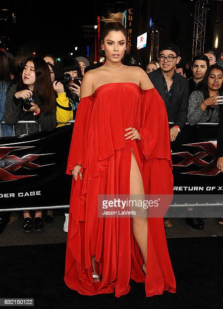 Ariadna Gutierrez attends the premiere of 'xXx Return of Xander Cage' at TCL Chinese Theatre IMAX on January 19 2017 in Hollywood California