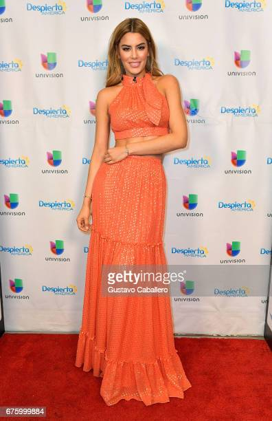 Ariadna Gutierrez visits Univision's 'Despierta America' to promote her DVD xXx The Return of Xander Cage on May 2 2017 in Miami Florida