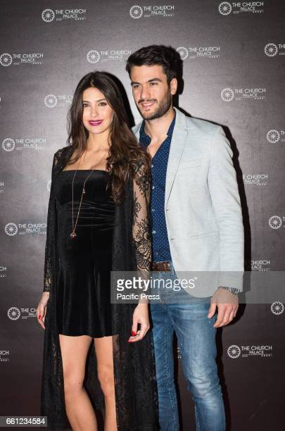 Ariadna Romero and Pierpaolo Petrelli on the Red Carpet for the premiere of 'Ovunque Tu Sarai'